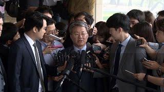 """'정운호 게이트' 홍만표 """"참담하다, 감당할 부분은 감당할 것..."""""""
