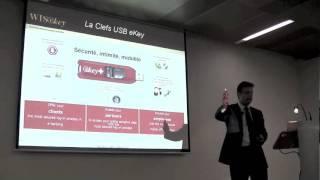 Carlos Creus Moreira Keynote sur la sécurité des transactions -