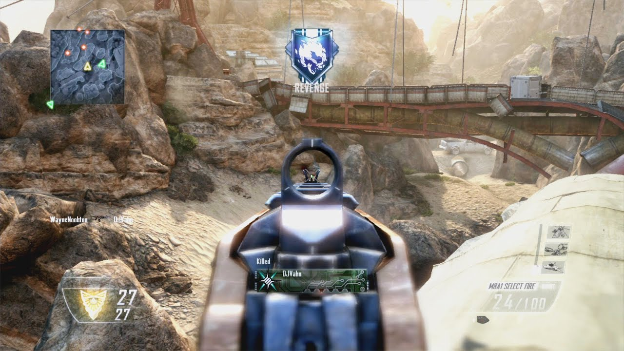 First Look At Call Of Duty: Black Ops II's Multiplayer