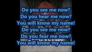Arch Enemy - You will know my name (Lyrics)