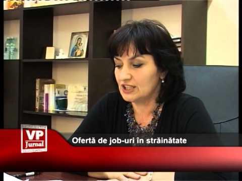 Ofertă de job-uri în străinătate