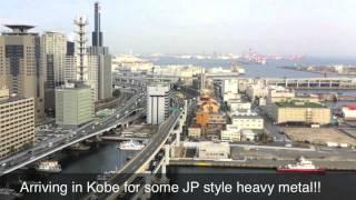 Speeding Shinkansen