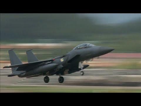 EEUU despliega sus mejores aviones de guerra en demostración de fuerza ante Norcorea