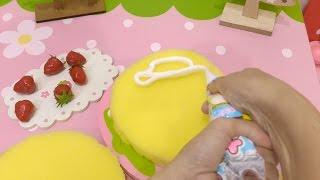 リアルおままごと クリスマスケーキ fake Cooking