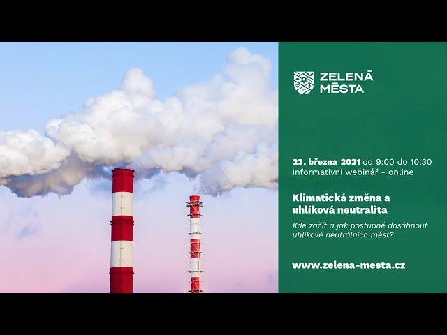 Změna klimatu a uhlíková neutralita