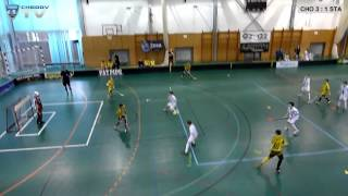 preview picture of video '7. kolo MlŽi, Chodov: FBC Start 98 (Kunratice 24.1.2015)'