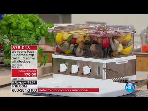HSN | Chef Wolfgang Puck 01.26.2018 - 06 AM