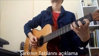 Sıla-Yan Benimle Gitar Solo Tab Gitar Dersi