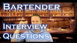 Become a Bartender: 5 Most Asked Interview Questions