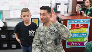 Military Surprise Home Coming | Jared Eli Pena surprises brother and sister in class #THECHOICE