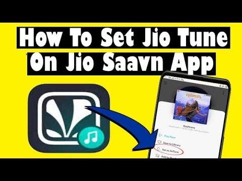 vTyoob - How to set jio tune in jio saavn app | जिओ
