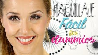 Maquillaje fácil, sencillo y todoterreno. Para cualquier situación.