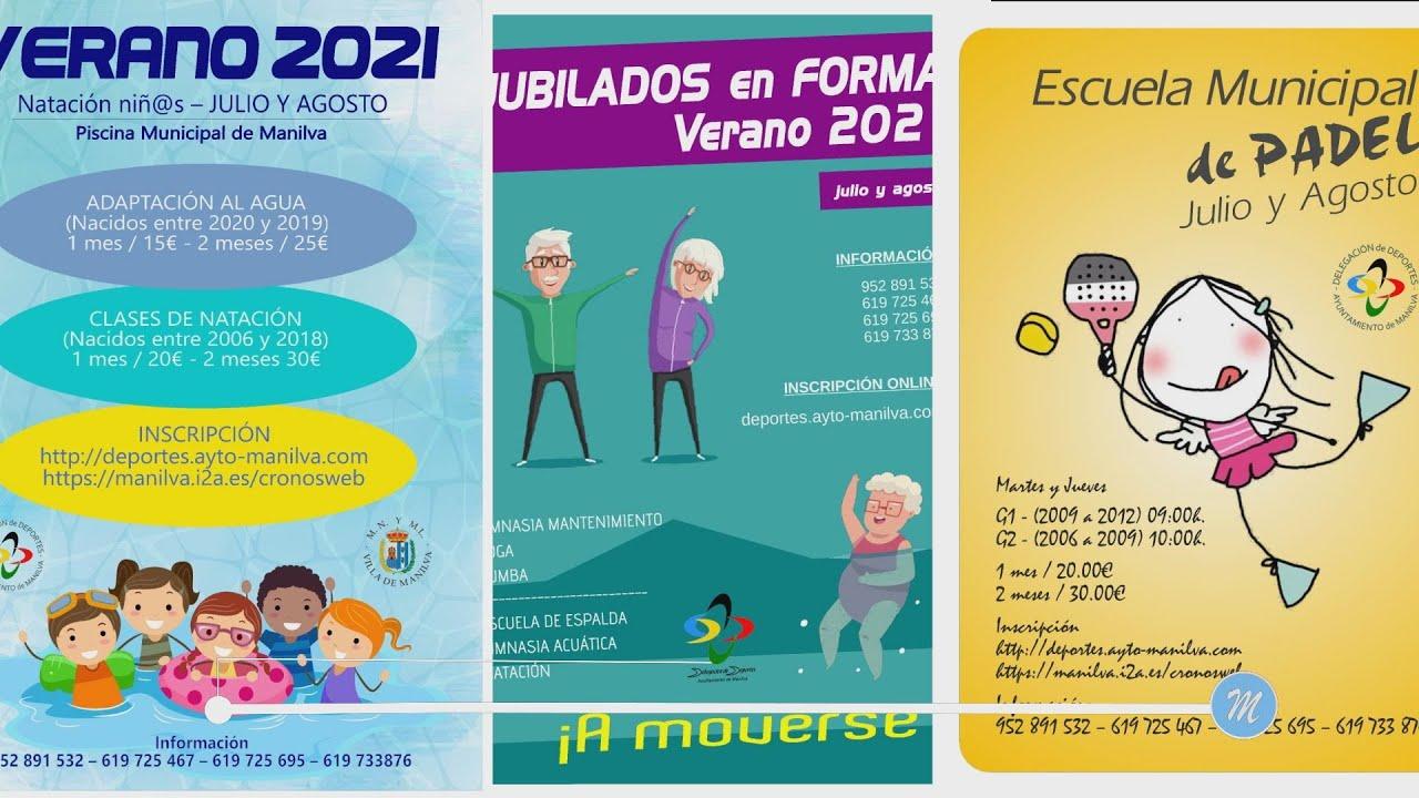 Programa de actividades de Deportes para el verano