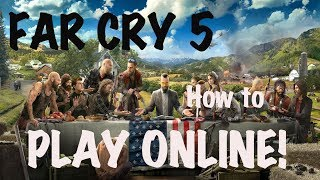 FAR CRY 5 [PS4] How to play online?