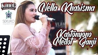 NELLA KHARISMA - KARTONYONO MEDOT JANJI || KONEG BAND WEDDING KUNCORO &  HAYU nella kharisma terbaru