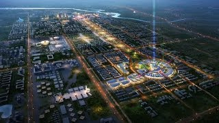 preview picture of video 'Астана - город будущего EXPO 2017 CITY'