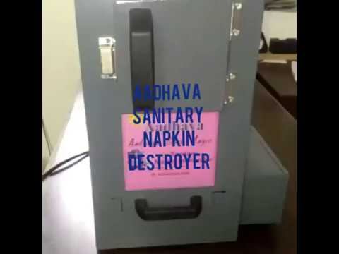 Eco-friendly Napkin Incinerator