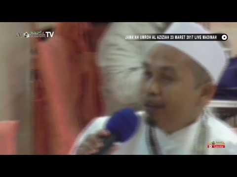 Jama'ah umroh AL AZIZIAH 23 maret 2017 live in madinah