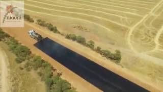 Road Bituminised   Incredible Construction Work  Moora Shire Road Works How To Build A Road