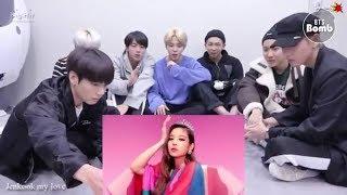 BTS Reaction To BLACKPINK   '뚜두뚜두 (DDU DU DDU DU)' MV
