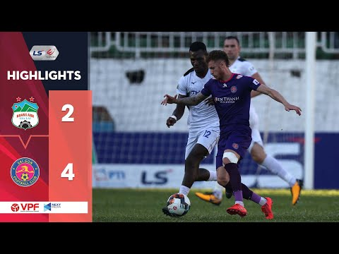 Highlights | HAGL - Sài Gòn FC | 6 bàn thắng trong 90 phút nghẹt thở tại phố Núi