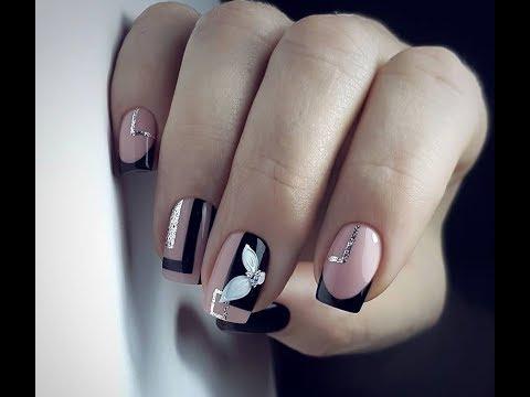 Идеи красивого маникюра на квадратные ногти/Дизайн маникюра на форму ногтей квадрат фото тенденции