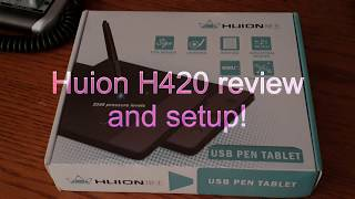how to install huion h420 tablet without cd - TH-Clip