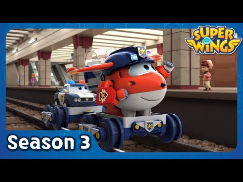 Moscow Metro | super wings season 3 | EP22