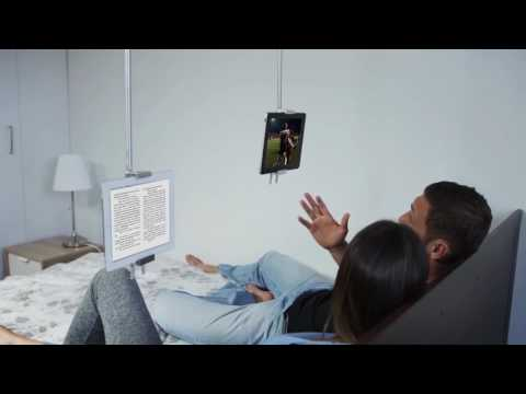 SkyFloat - The first Magnetic Ceiling Arm for Your Tablet and Phone!