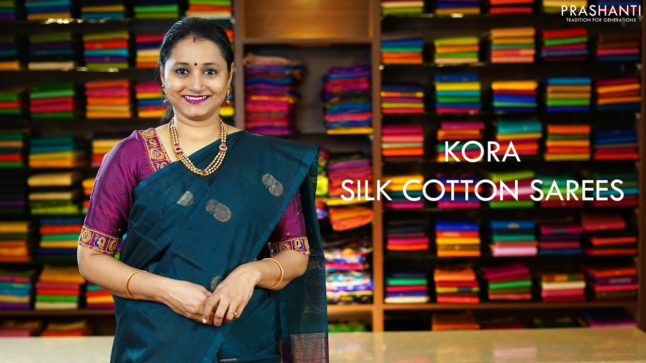 Kora Silk Cotton Sarees   26 Nov 20   Prashanti