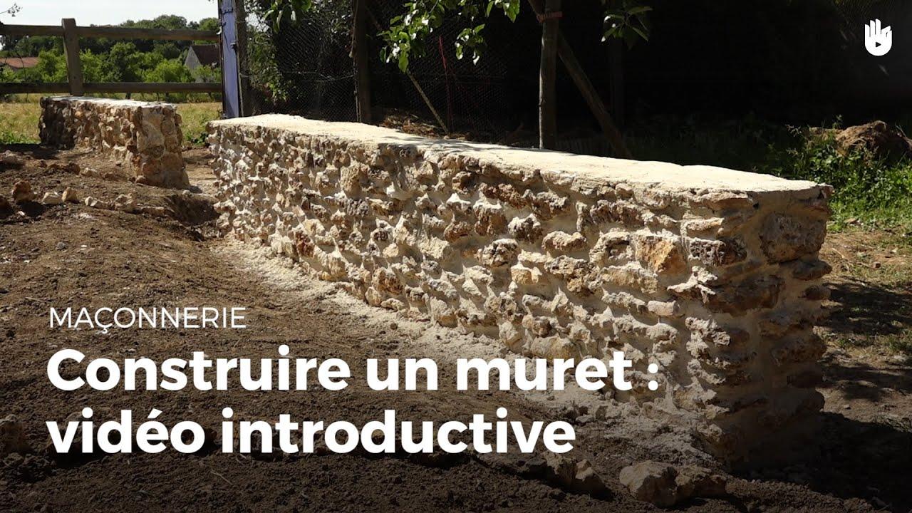Construire un muret de sout nement vid o introductive diy les basiques du bricolage sikana - Muret floral de soutenement ...