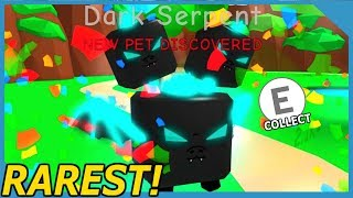 NEW DARK SERPENT PET IN ROBLOX BUBBLE GUM SIMULATOR *Limited Pet*