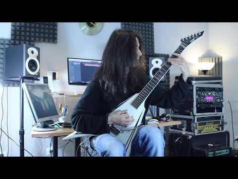 Children of Bodom - Black Widow (w/SOLO - ESP Alexi Laiho - Guitar Cover)