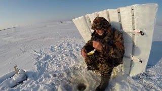 Зимняя рыбалка защита от ветра