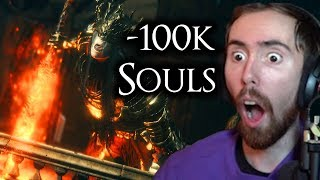 """""""Don't You Kill Me"""" Asmongold Gets INVADED Playing Dark Souls 3 -  Day 4"""