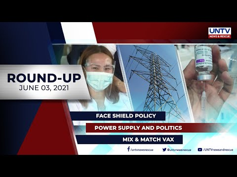 [UNTV]  UNTV NEWS ROUNDUP: Mga balitang dapat mong malaman (June 3, 2021)