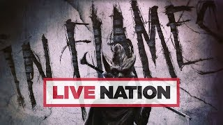In Flames Are Hitting The Road In April 2019! | Live Nation UK