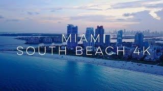 South Beach Miami - 4K Drone Footage