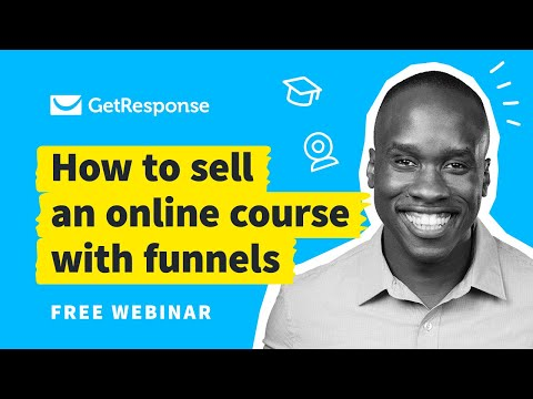 How to Sell Online Courses with Conversion Funnel | Webinar with ...