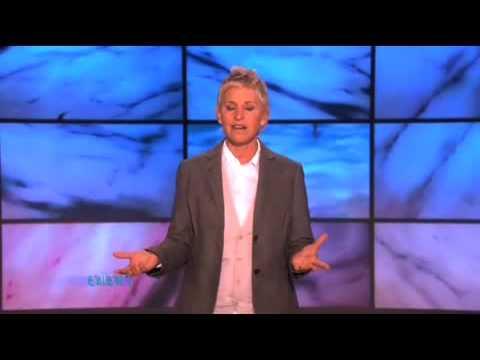 Ellen DeGeneres o kabelkách
