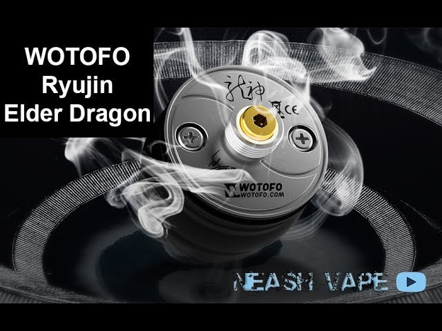 WOTOFO Ryujin Elder Dragon RDA - Review - FLAVOUR BANGER!