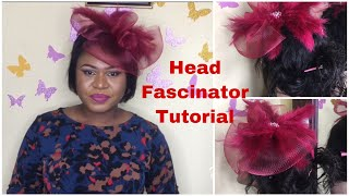 Head Fascinator Tutorial | DeyshawlahTV