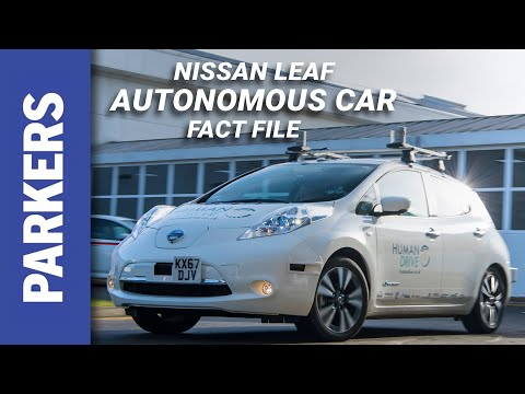 Riding In An Autonomous Car On UK Roads | Nissan Leaf HumanDrive
