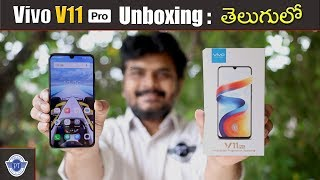 Vivo V11 Pro Unboxing & initial impressions ll in telugu ll