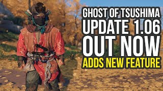 Ghost Of Tsushima Update 1.06 Adds New Armor Feature & Secretly Changes Loot