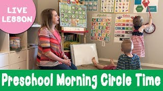 Our Preschool Morning Circle Time | Sample Lesson