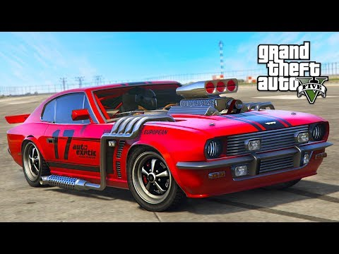 "GTA 5 - SUPERCHARGED ""RAPID GT CLASSIC"" SMUGGLER'S RUN DLC SPENDING SPREE! (GTA 5 Online DLC Update)"