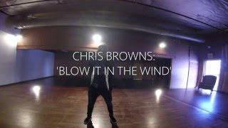 BLOW IT IN THE WIND | Chris Brown | CREATIVE CONCEPT | Choreography by Stefanie E. Santiago