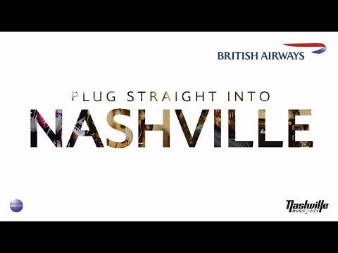 British Airways - Plug straight into Nashville!