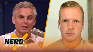 Chris Simms on why Russell Wilson is better than Rodgers, talks Mahomes, Brady, Dak | NFL | THE HERD